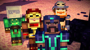 Image result for minecraft story mode episode 1 order of the stone