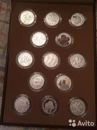 <b>Комплект</b> 13 жетонов <b>Православные</b> праздники серебро - Хобби ...