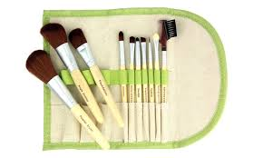 beaute basics eco makeup brush set 10 piece