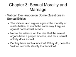 chapter sexual morality and marriage vatican declaration on chapter 3 sexual morality and marriage vatican declaration on some questions in sexual ethics the