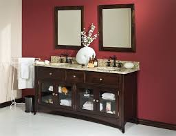 built bathroom vanity design ideas: solid wood built in vanity bathroom design ideas full size
