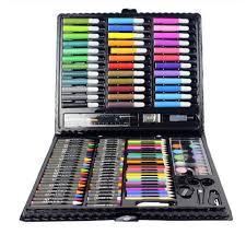 <b>150pcs Children's Drawing Painting Set</b> Water Color Pen Crayon <b>Oil</b> ...
