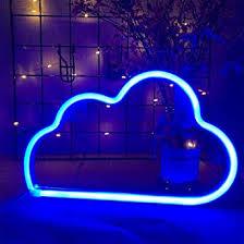 ENUOLI <b>Neon</b> Light <b>Cloud Neon</b> Signs <b>Cloud Neon</b> Lights Blue ...