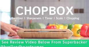 ChopBox: Smart <b>Cutting Board</b> With 10 Features | Indiegogo