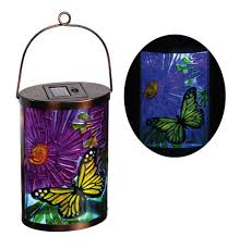 <b>Butterfly</b> Garden Friends Hanging <b>Solar Lantern</b>, Light up your ...