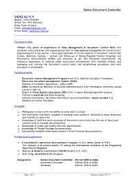 sadiq cv document controller