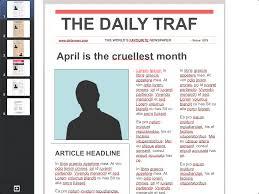 editable newspaper template best business template front page template editable newspaper templates newspaper template phitiuez
