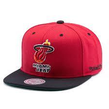 <b>Бейсболка Mitchell & Ness Nba</b> Miami Heat Flipside Snapback ...