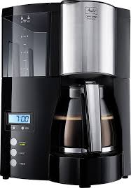 <b>Кофеварка MELITTA Optima</b> Timer, <b>капельная</b>, черный [6613648]