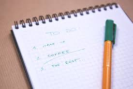 beating procrastination how not to get overwhelmed make a list