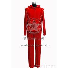 <b>Smallville</b> The Flash <b>Impulse</b> Cosplay Costume Red Suit Uniform ...