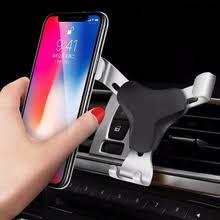 aluminum <b>car air vent gravity</b> mount holder