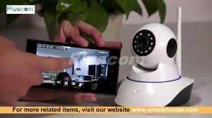 Wireless <b>WiFi</b> HD <b>720P IP Camera</b> - YouTube