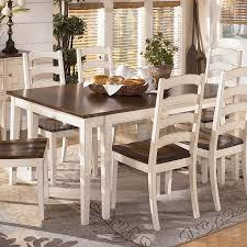 dining room table ashley furniture home: whitesburg rectangular extension dining table signature design attractive home ashley furniture dining table set