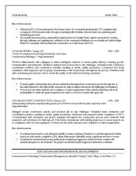 construction project manager resume com construction project manager resume for a job resume of your resume 16