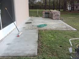 patio restoration orlando from this angle you can not see the cracks which start from the house