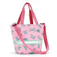 Сумка детская Shopper XS cactus pink Reisenthel - KLEUS