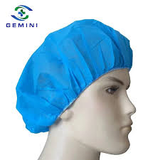 China <b>100 Pieces</b> Disposable <b>Non-Woven</b> Elastic Bouffant Hair Net ...