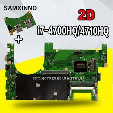 <b>Send board</b> +<b>2D</b> Laptop motherboard for ASUS G750JM G750JW ...
