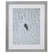 Rivet Modern Black and White Floating Woman Photo ... - Amazon.com