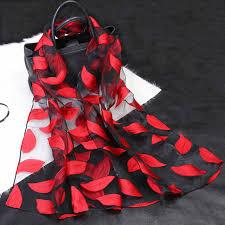 <b>Women</b> Lightweight <b>Organza</b> Shawl Imitated Long Silk Scarf Soft ...