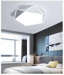 Creative geometric <b>led</b> modern minimalist <b>pentagon</b> ceiling light ...