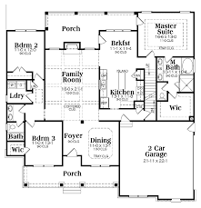 Design bathrooms page ranch house plans   loftRanch house plans  single level ranch house plans  one