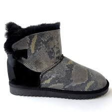 <b>G&Zaco Luxury</b> Women'S Sheepskin Boots <b>Natural</b> Wool Fur Snake ...