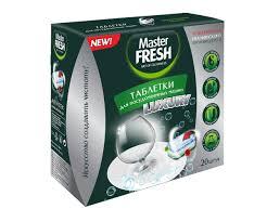 <b>Таблетки</b> для посудомоечной машины <b>Master Fresh luxury 10</b> в 1 ...