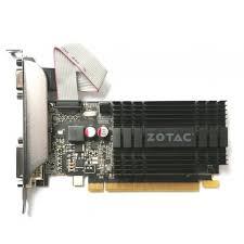 ≡ <b>Видеокарта ZOTAC</b> GeForce <b>GT 710</b> 1GB GDDR3 (ZT-71301 ...