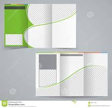 tri fold business brochure template vector green royalty tri fold business brochure template vector green