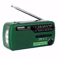 [US$26.99] Degen <b>DE13 Portable FM</b> MW SW Manual Cranking ...