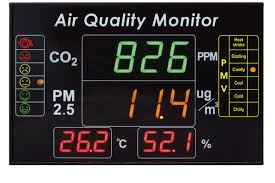 eYc DMB05 4-in-1 Multifunction Indoor Air Quality <b>Large LED</b> ...