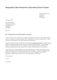 letter of resignation teacher informatin for letter how to write a letter of resignation teacher template