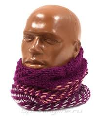 <b>Шарф Buff Knitted&Polar</b> Neckwarmer Nella Purple Raspberry, арт ...