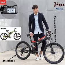 <b>Plenty Electric Bike</b> Foldable Ebike Full Aluminium Alloy 21 speed ...