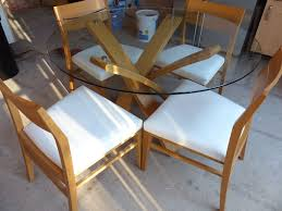 Marks And Spencer Dining Room Furniture Marks Amp Spencer Conran Glass Dining Table And Four Chairs Home