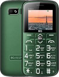Мобильный <b>телефон BQ 1851</b> Respect зеленый