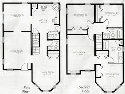 Story Cottage House Plans Story Cabin Floor Plans  two story    Loft Bedrooms Bedroom Story House Plans