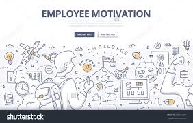doodle design style concept employee motivation stock vector doodle design style concept of employee motivation success achieving career goals modern line