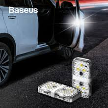 <b>Baseus</b> 2Pcs 6 LEDs <b>Car</b> Openning <b>Door</b> Warning Light Safety Anti ...