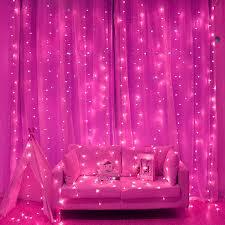 Гирлянда <b>светодиодная Бахрома 5х0</b>.5 м 240LED, розовый ...