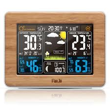 <b>FanJu FJ3365 Weather Station</b> Color Forecast with Temperature ...