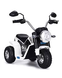 Classic <b>children's electric motorcycle</b> Chopper with battery 6v Your ...