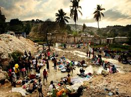 After the earthquake in Haiti