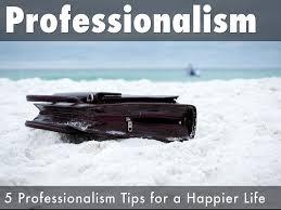 professionalism by bruce denson professionalism