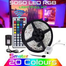 5M Waterproof LED Strip Light 12V US Power Full Kit SMD ... - Vova