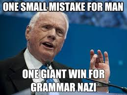 Image result for grammar nazi