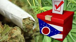 Image result for Exit polling Ohio voters on marijuana legalization