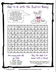 1000+ images about Math Puzzles on Pinterest | Brain teasers ...Easter Math Game or Math Worksheet - from Easter Math and Literacy Fun and Games by